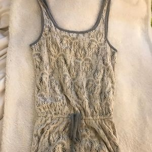Wet Seal Crochet Romper